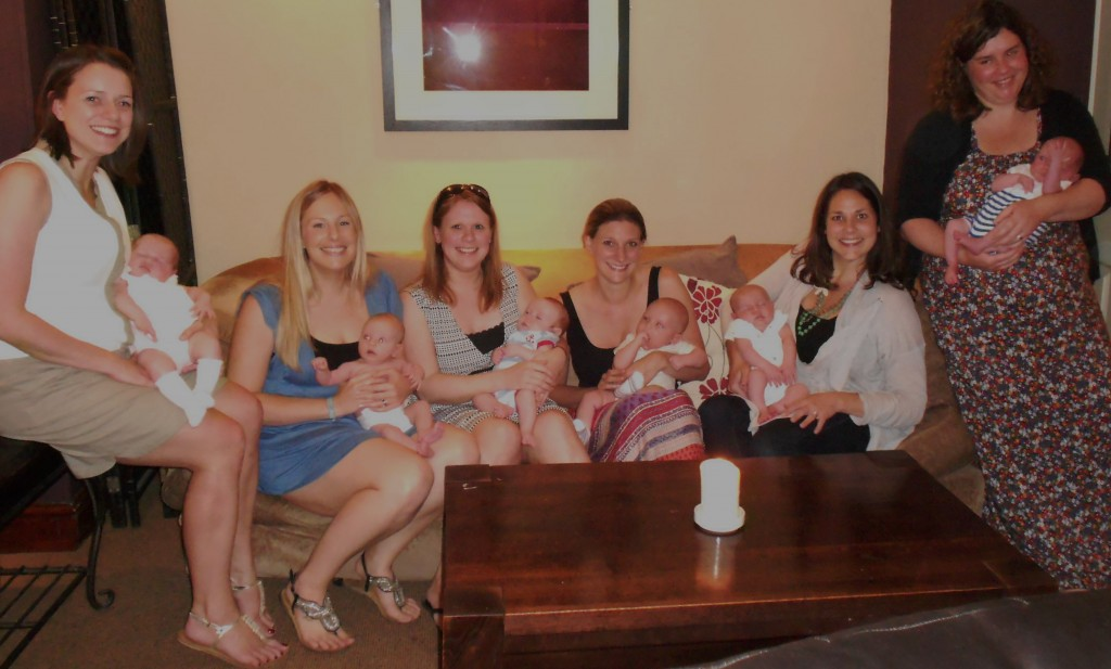 Some of our BirthPlus mums and babies!
